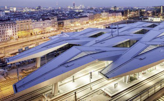 Europäischer Stahlbaupreis Hauptbahnhof Wien