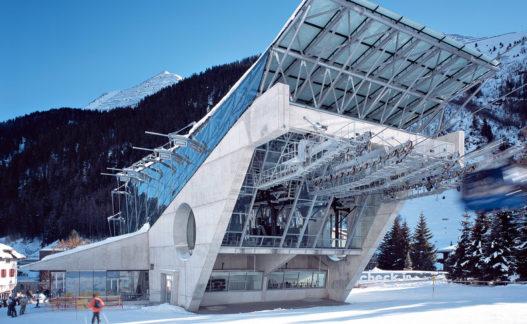 Österreichischer Stahlbaupreis Galzigbahn St Anton