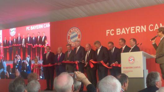 FC Bayern München Campus Eröffnung