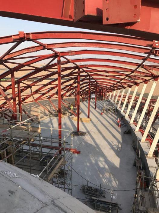 Bee'ah Hauptsitz in Sharjah Konstruktion