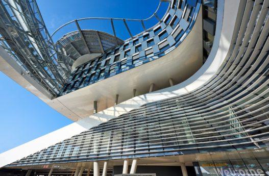ÖAMTC Zentrale Wien Stahlkonstruktion
