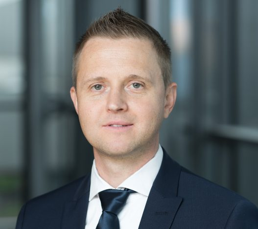 Bernd Mühl, Geschäftsbereichsleiter Stahlbau und Prokurist Europa