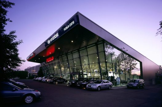 Unger Steel Immobilien Autohaus Jersoslawske Moskau