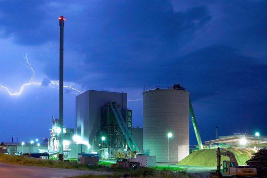 Unger Steel Generalunternehmung Biomassekraftwerk Heiligenkreuz